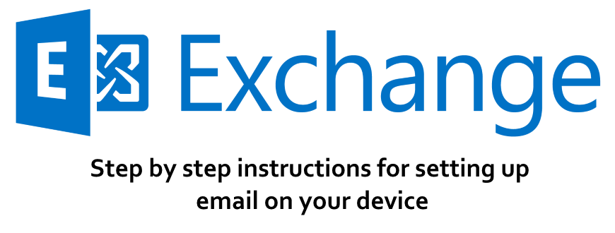Hosted Exchange email setup instructions